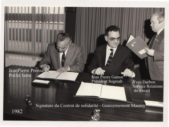 02-1982 Contrat solidarité Sogreah 2 Gamot Darbon