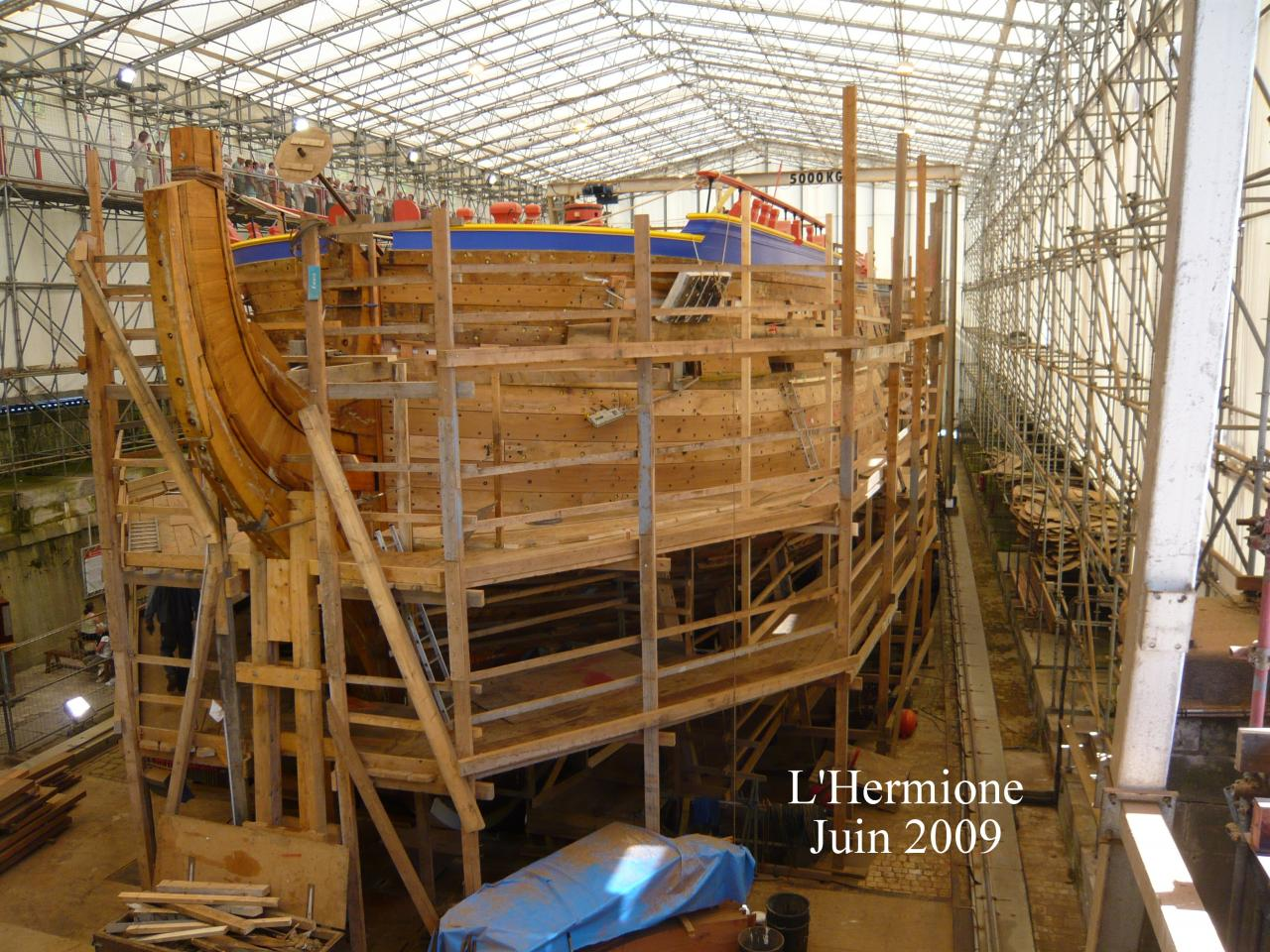 L hermione rochefort sur mer 6 juillet 2013 for Rochefort construction