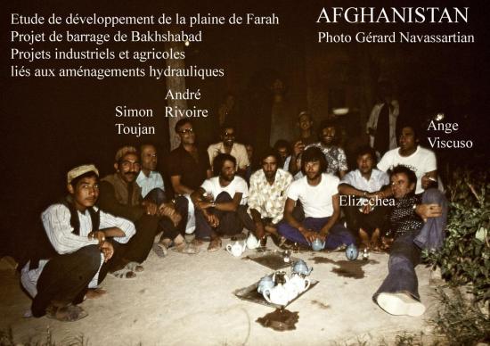 1976 Kabul Farah Rud Soirée