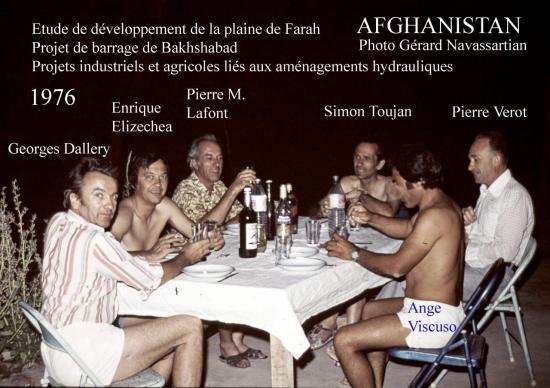 1976 Kabul Farah Rud Groupe
