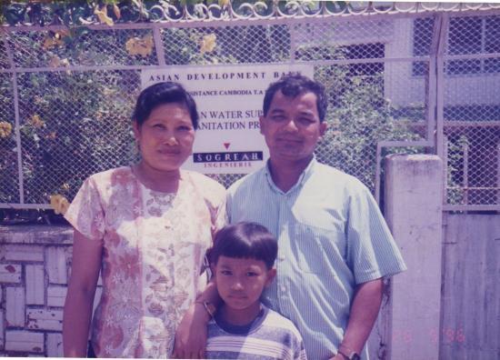 1996 Phnom Penh Couple bureau