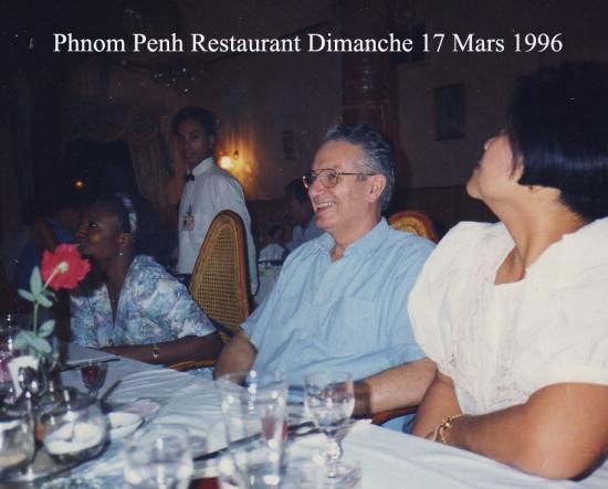 1996 Phnom Penh Restaurant Fleury Dim 17  Mars 1996