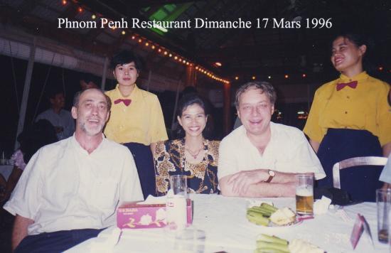 1996 Phnom Penh Restaurant Lejeune Dim  17  Mars 1996