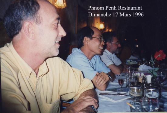 1996 Phnom Penh Restaurant Olivier Dim  17  Mars 1996