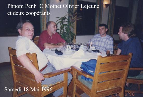 1996 Phnom Penh Restaurant sam 18 Mai 1996
