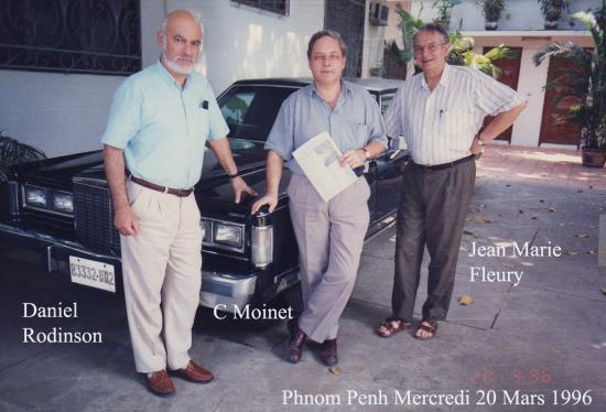 1996 Phnom Penh  Rodinson Moinet Fleury 20 mars