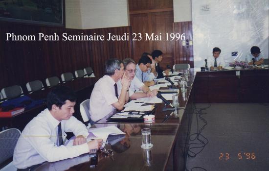 1996 Séminaire 23 mai Hedon CM Napud AA