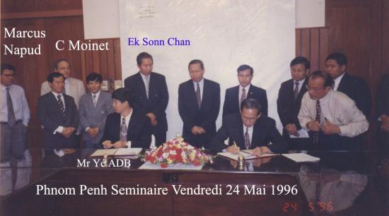 1996 Séminaire 24 mai Ek Sonn Chan CM N