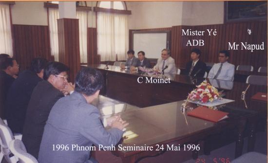 1996 Séminaire 24 mai  Napud CM Yé