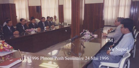 1996 Séminaire 24 mai Salle réunion