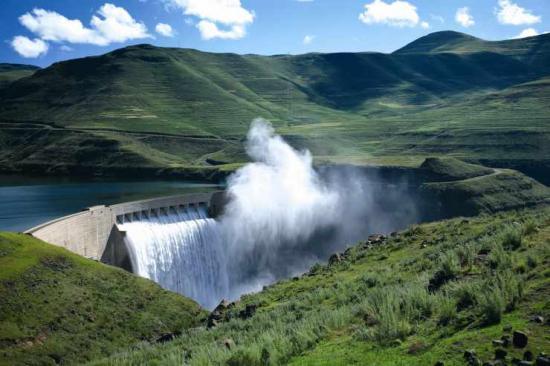Barrage Katse barrage