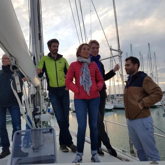 6 Celine Sur le bateau 20170930_193327