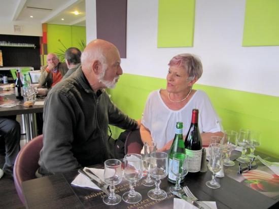 Daniel Rodinson et Mimi 27 Nov 2015