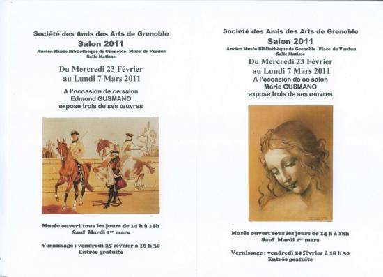 Expo peintures E. et M. GUSMANO
