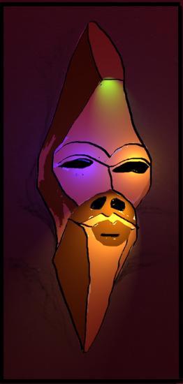 Masque Aurelio Demontis
