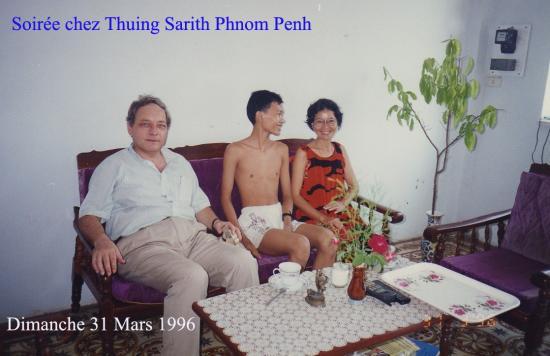 Phnom Penh Thuing Sarith Dimanche 31 Mars 1996