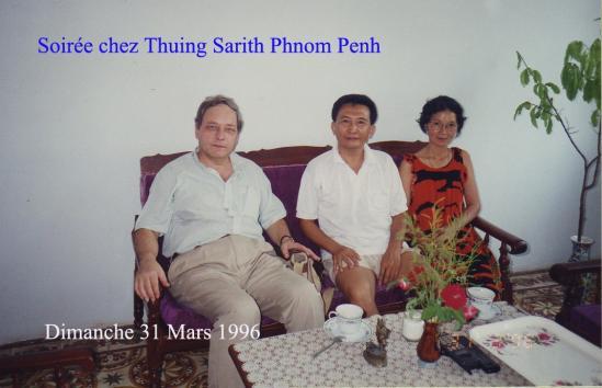 Phnom Penh Thuing Sarith Dimanche 31 Mars 1996 (2)
