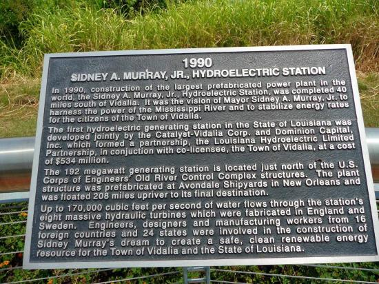 Sidney A Murray JR Hydroelectric station 1990