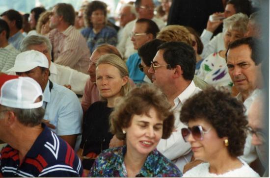 Cérémonie Inauguration 1990