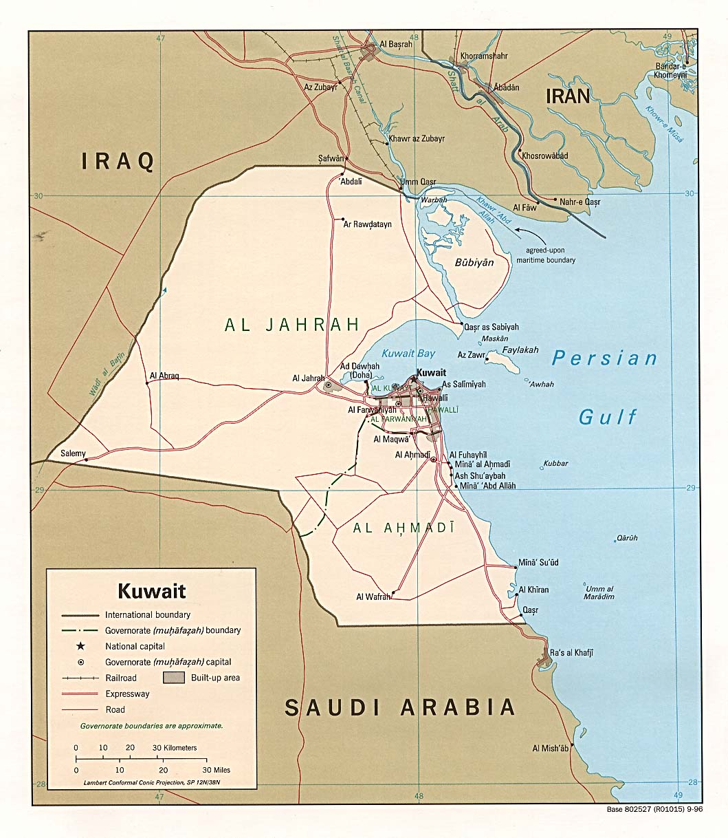 1 carte koweit