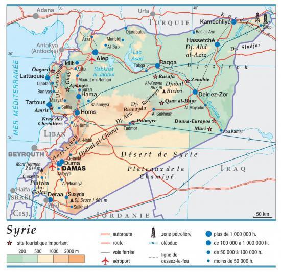 1 carte syrie