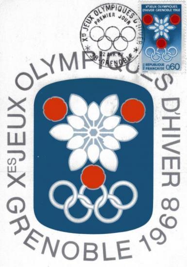 1 logo affiche officielle jo 68