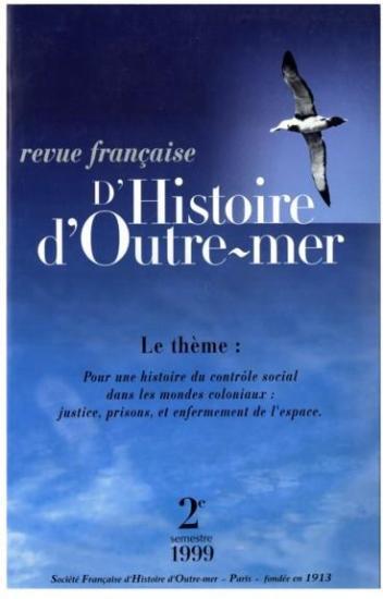 1 revue francaise d histoire d outre mer