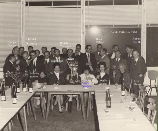 1960 sainte catherine a sogreah 400 noms