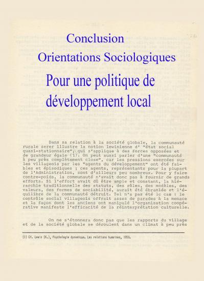 1963 societe rurale senegal reverdy jc 4 conclusion