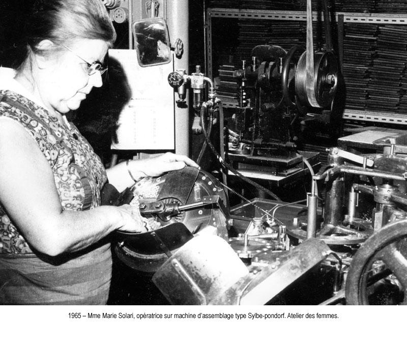 1965 machine assemblage sylbe pondorf