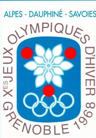 1968 affiche jeux olympiques