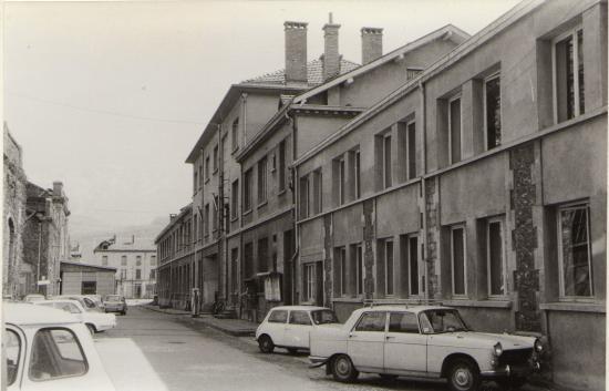1972 bureau sogreah ex neyrpic parking smh croix rouge 1