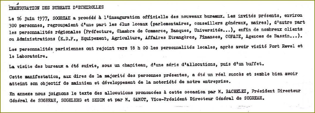 1977 06 16 inauguration bureaux sogreah