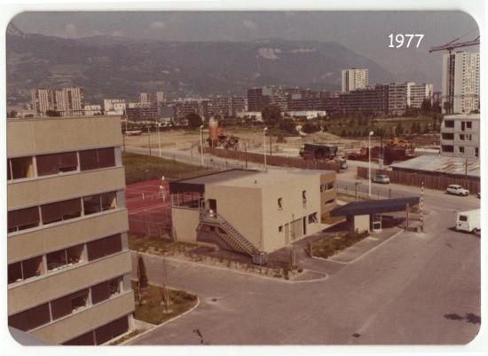 1977 batiment social sogreah 1977