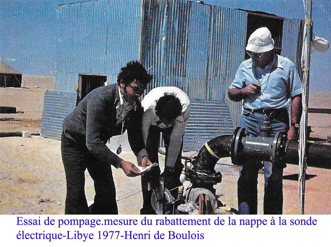 1977 henri libye essai de pompage