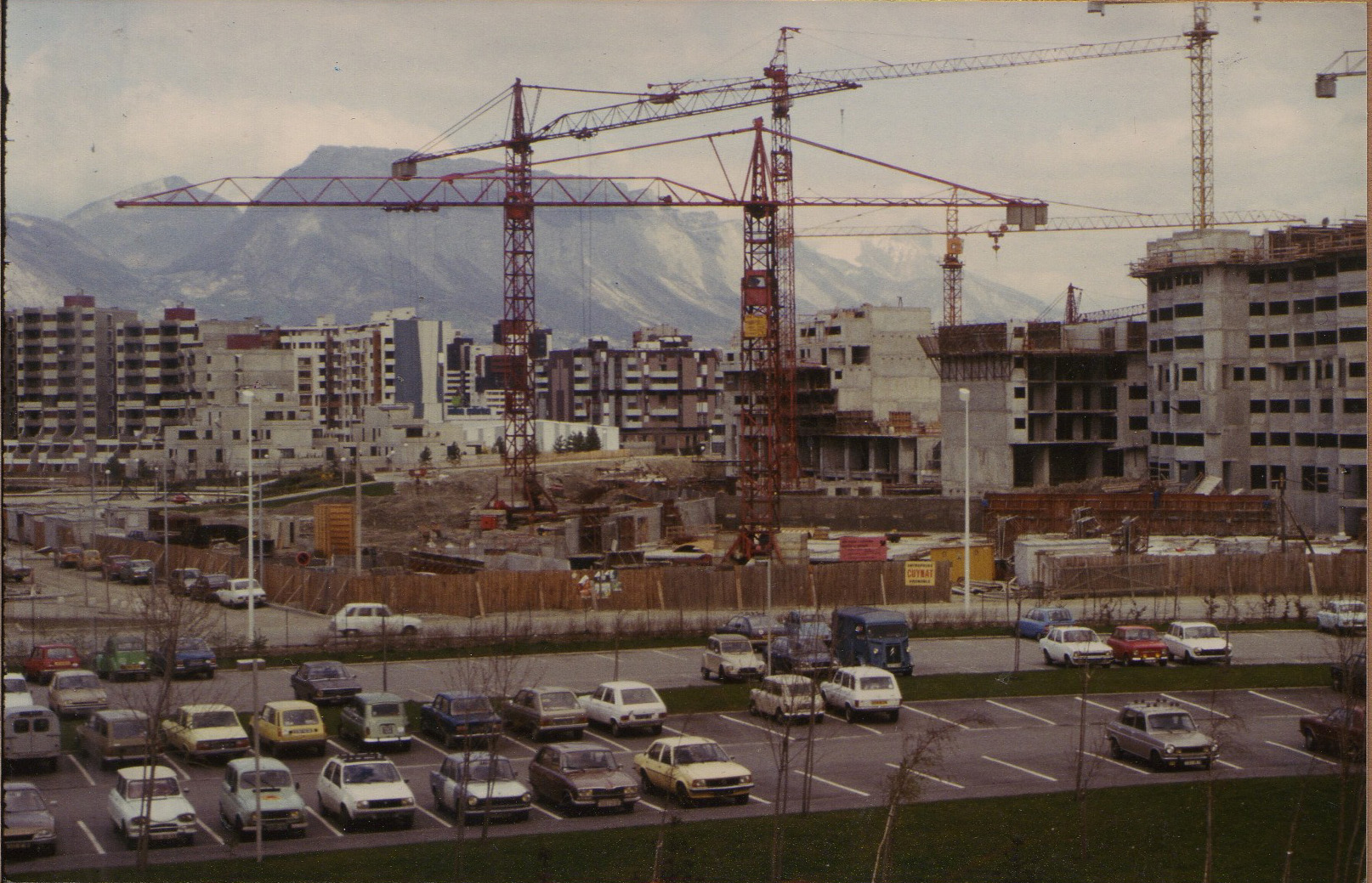 1977 sogreah travaux du quartier granges