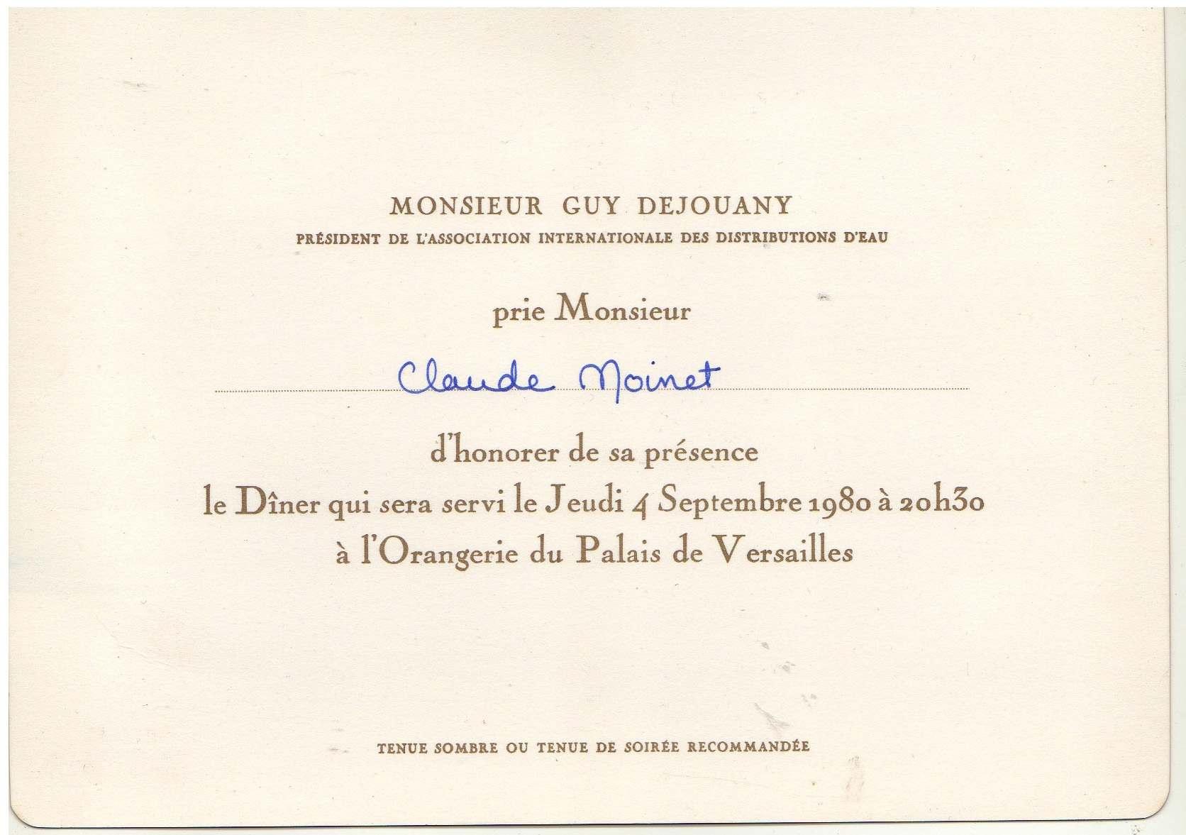 1980 invitation dejouany paris