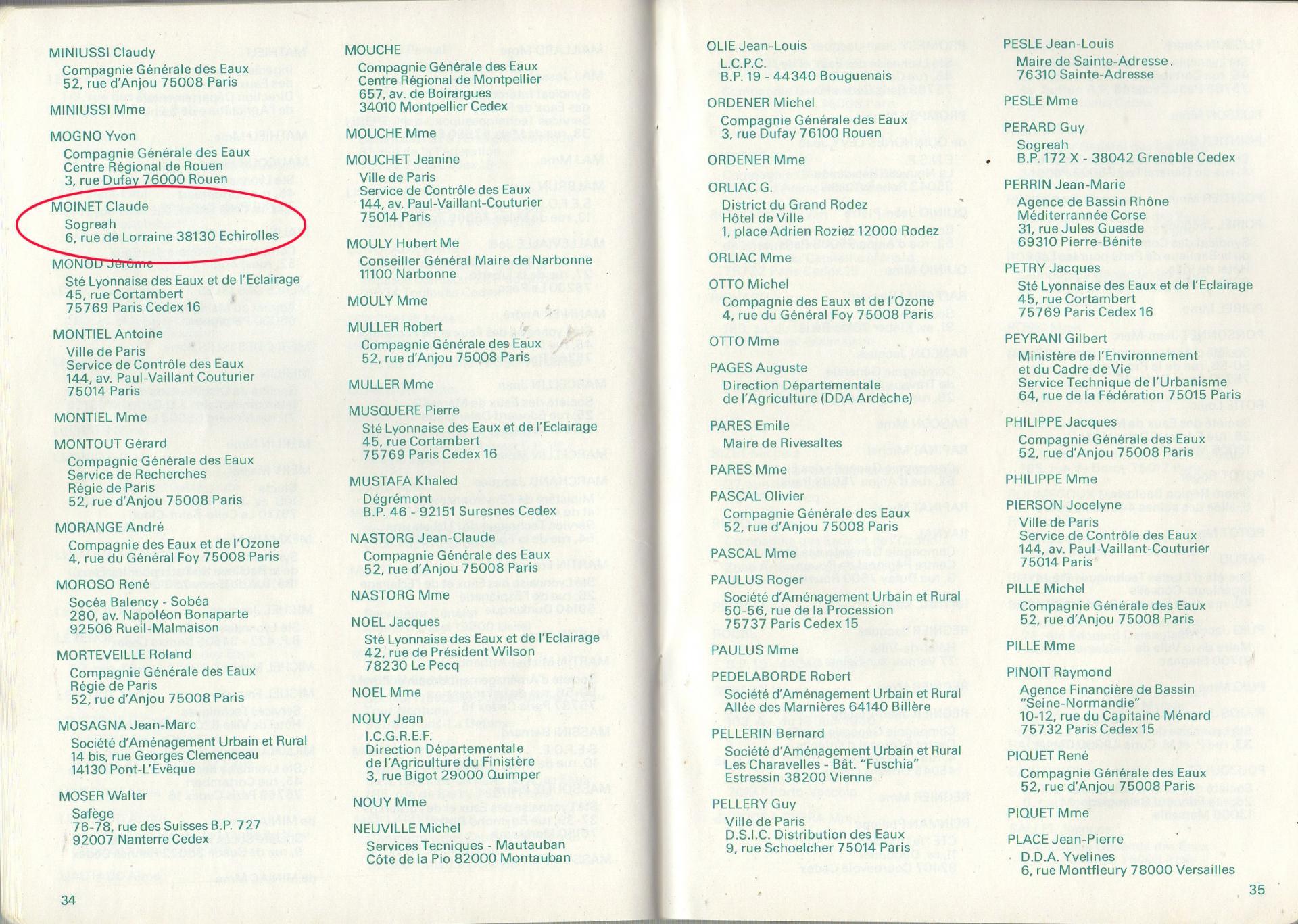 1980 sept 1 a 4 congre distributeurs eau moinet