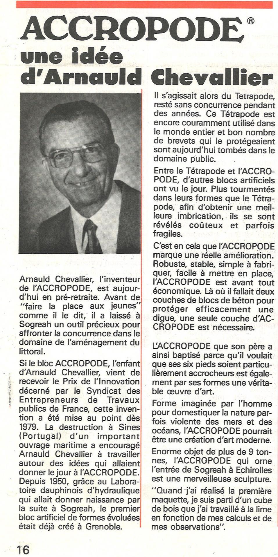 1983 arnauld chevallier accropode extrai arnauld