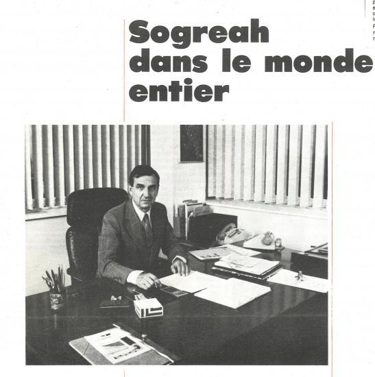 1983 gamot bureau sogreah dans le monde