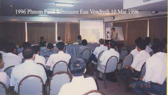 1996 seminaire eau vendredi 10 mai 1996