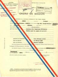 2 1964 ordre de mission armand richard r