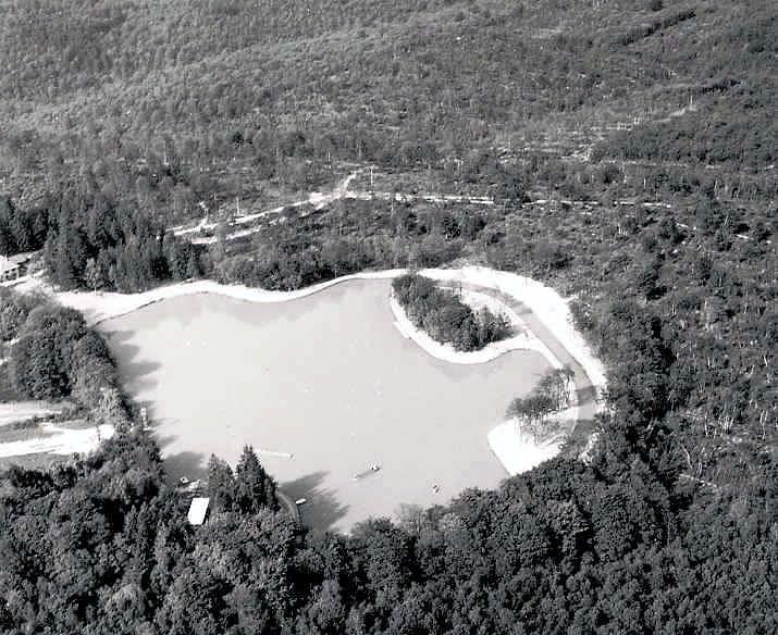 A creusement lac 3 1967