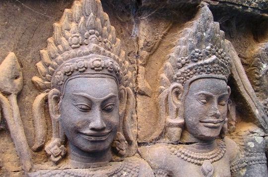 Angkor sculpture