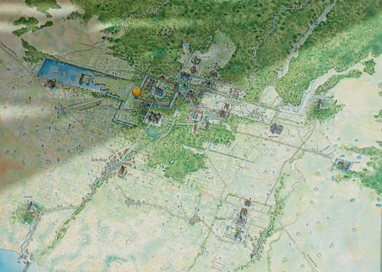 Angkor vue avion dsc 2767