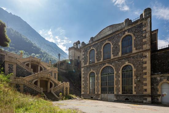 Centrale hydroelectrique des vernes livet et gavet france