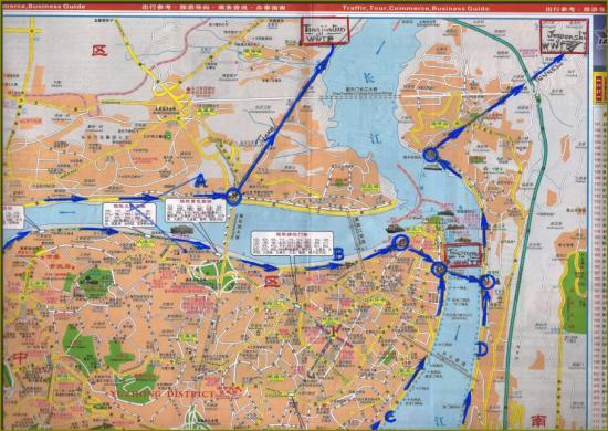 Chongqing map bernard