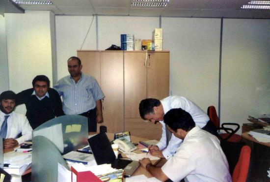 Dubai bureau trindade equipe 2007 b