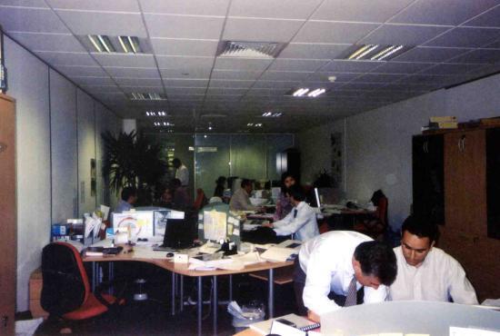 Dubai bureau trindade equipe 2007