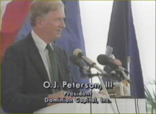 Film 4 titre 31 aout 1990 inauguration peterson